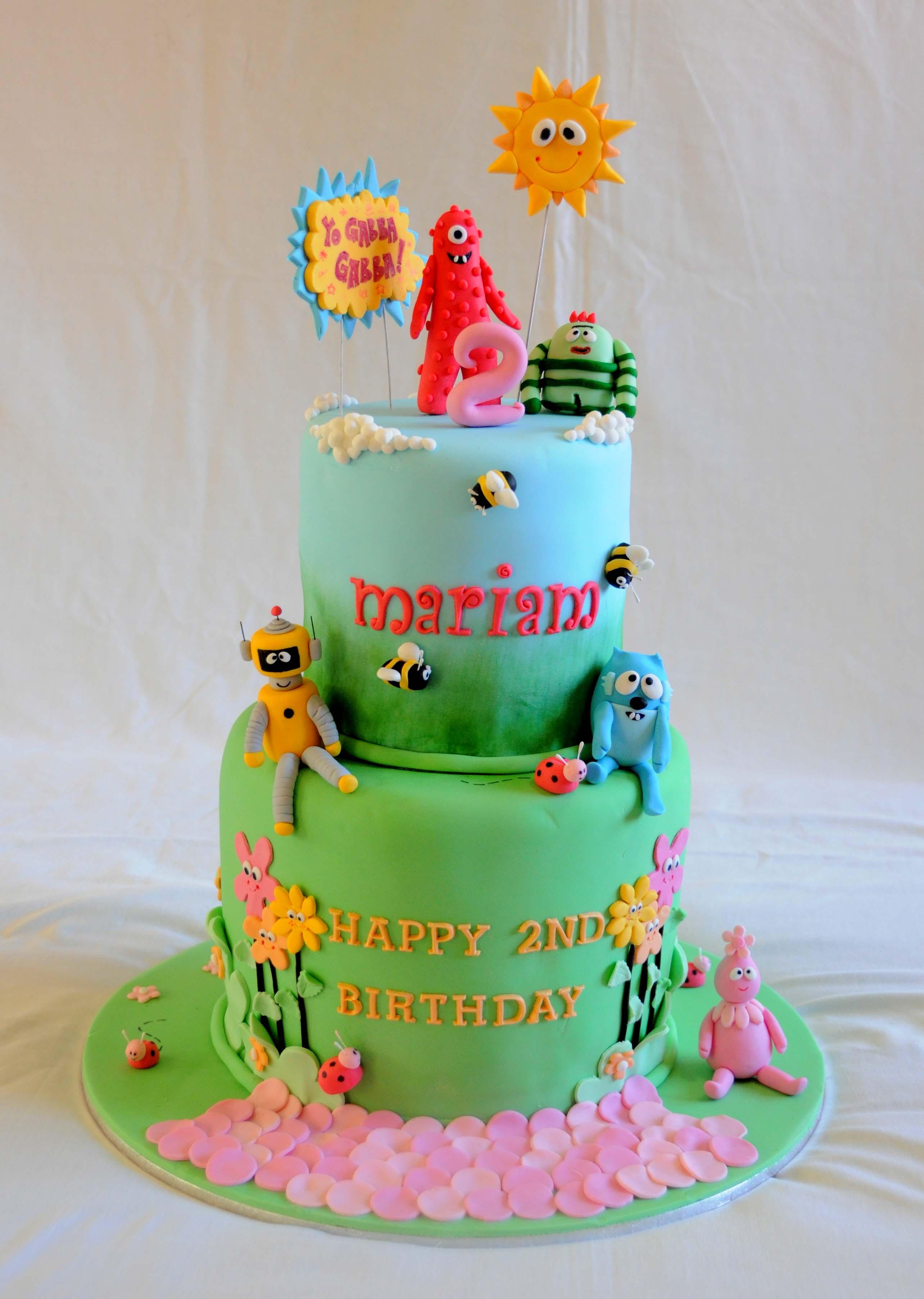 Yo Gabba Gabba Cake Its A Cake Thing