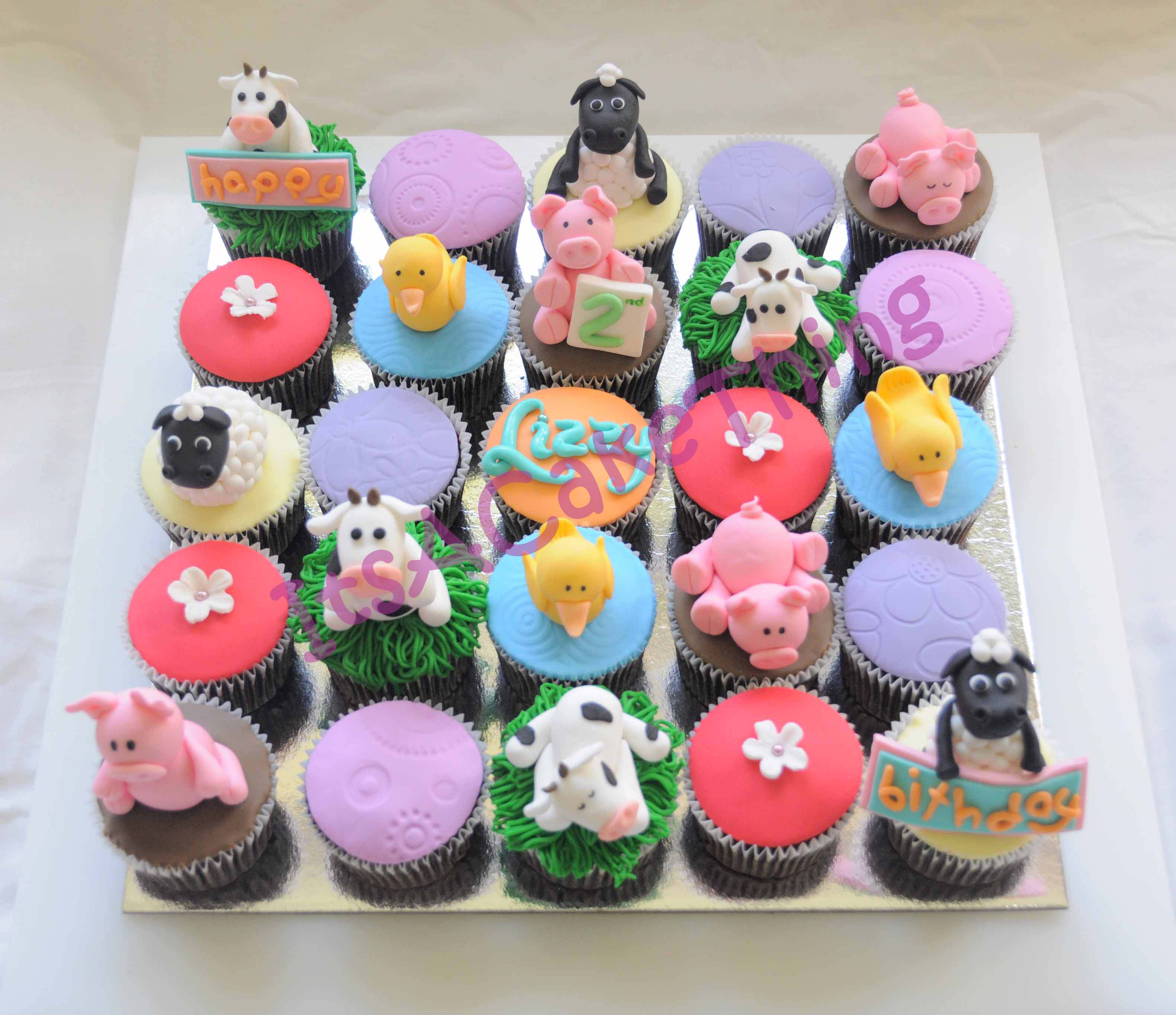 Farm Themed Cupcakes Its A Cake Thing