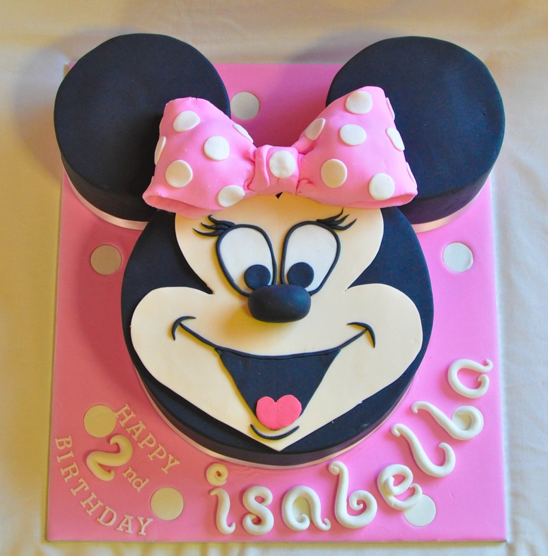 Images Of Minnie Mouse Face Cakes