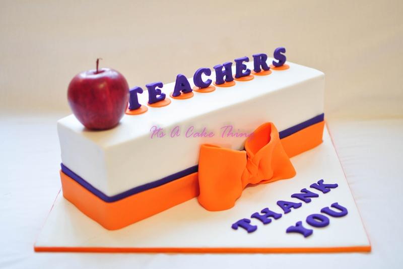 Cake Designs For Teachers Day : Pin Teachers Appreciation Cake Teacher Gift Ideas Cake on ...